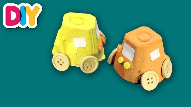 Cars   Egg Carton Craft