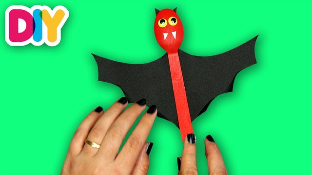 Bats | Wooden Spoon Craft