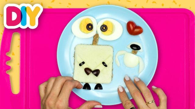 Wall-E | Rye & Oat Bread Toast