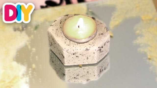 Clay Tea Light Holder | Clay Craft