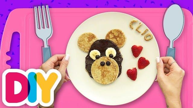 Μαϊμουδάκι   Pancakes με Σοκολάτα