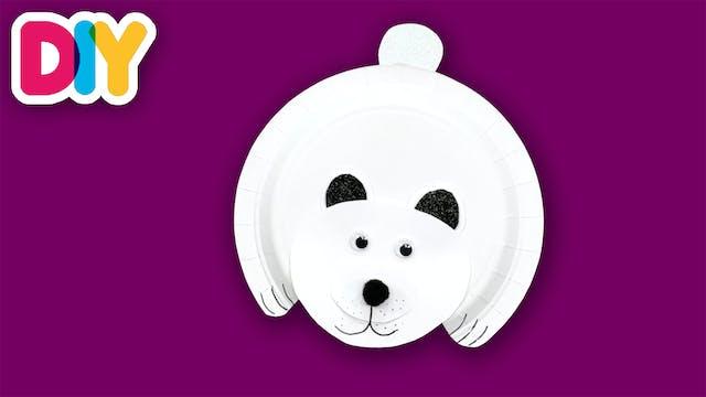 Polar Bear | Paper Plate Craft