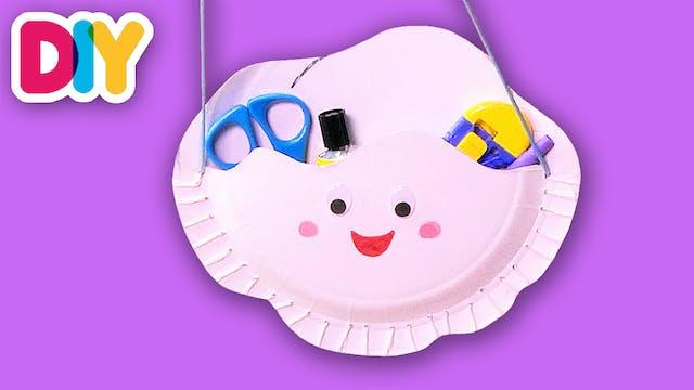 Happy Cloud | Paper Plate Craft