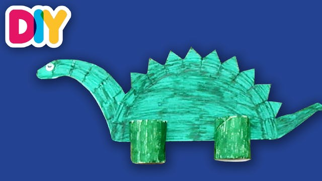 Dinosaurs | Paper Plate Crafts
