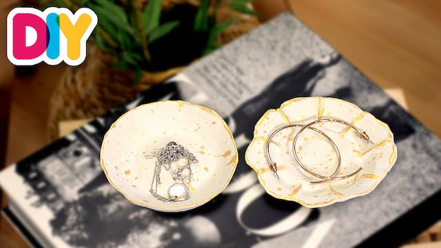 Jewelry Clay Plate | Clay Craft