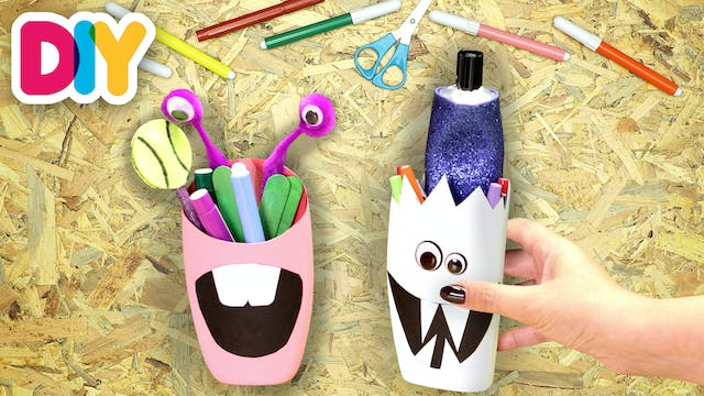 Upcycled Pencil Case | Recycled Plast...