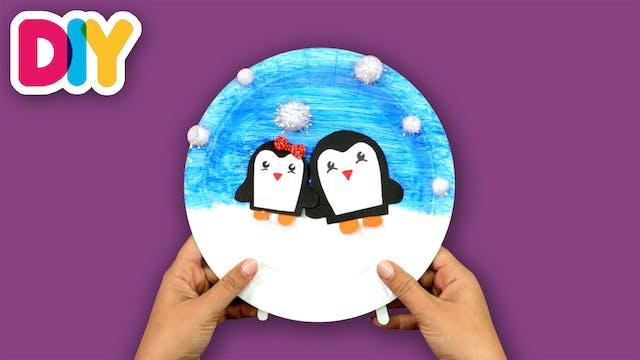 Penguin | Paper Plate Craft