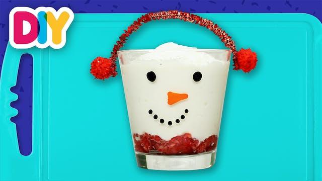 Snowman | Yogurt Trifle