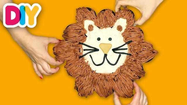Lion King | Pull-Apart Cake