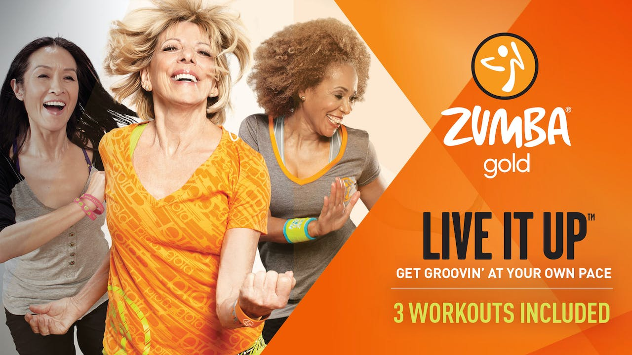 Zumba Gold Live it Up Total-Body Wellness System