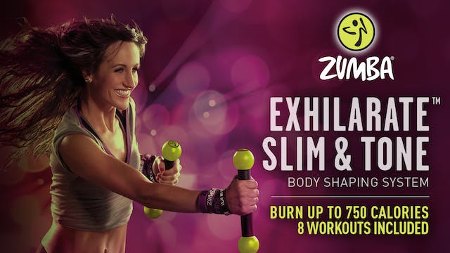 Zumba Exhilarate Slim and Tone Weight Loss Workout System