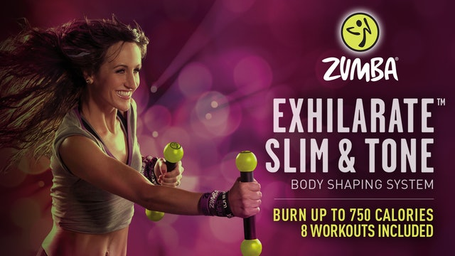 Zumba Exhilarate Slim and Tone Weight Loss System