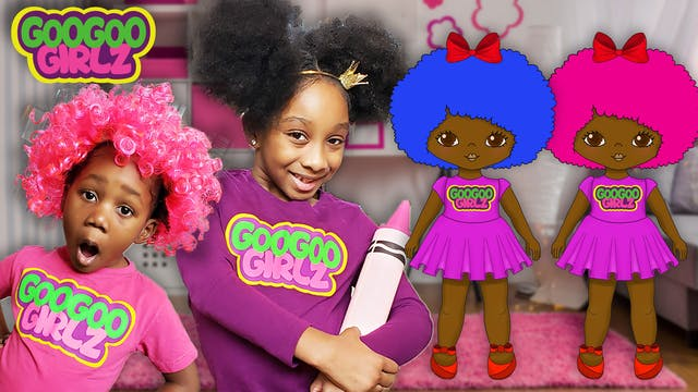 I Love My Afro! (Learn Colors with Go...
