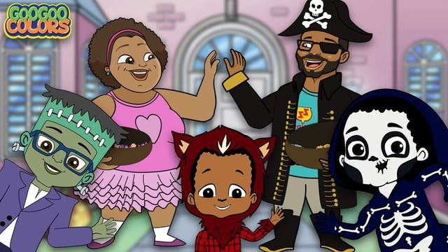 Halloween Songs For Kids! (Goo Goo Co...