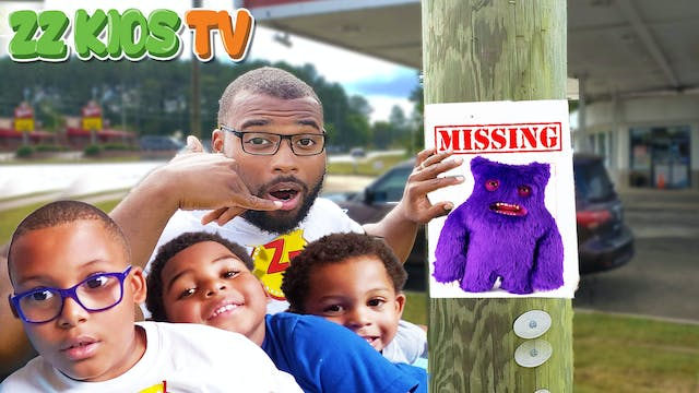 OUR PET MONSTER IS MISSING! Monster R...