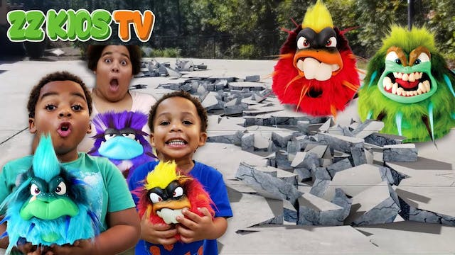 GRUMBLIES DESTROYED ZZ KID'S HOUSE!!!...