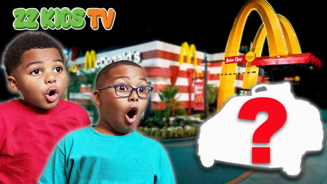 CUTE MONSTER DRIVES TO MCDONALDS!  Wh...
