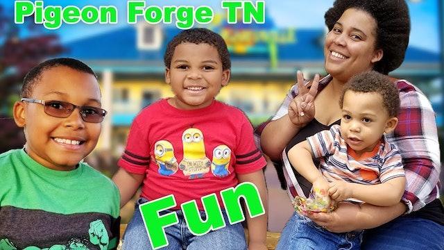GOO GOO GAGA FAMILY FUN AT PIGEON FORGE MARGARITAVILLE ISLAND!