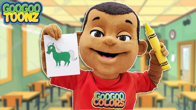 Is That A Green Horse? (Learn Colors and Animal Sounds with Goo Goo Toonz)