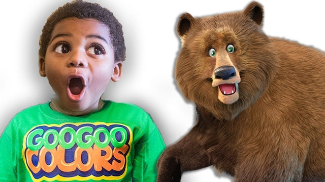 BROWN BEAR WHAT DO YOU SEE? Educational Pretend Play Story!