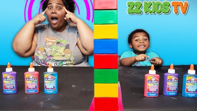 Twin Telepathy Slime Challenge ZZ Kid...