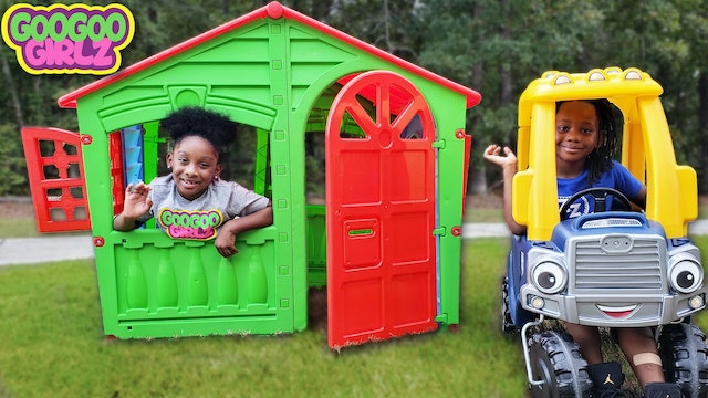 Don't Destroy My Playhouse! (Learn to Spell Tool with Goo Goo Girlz)