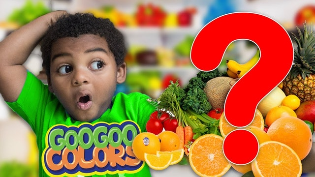WHAT HAPPEN TO THE FOOD? Learn how to Spell Food with GOO GOO GAGA.