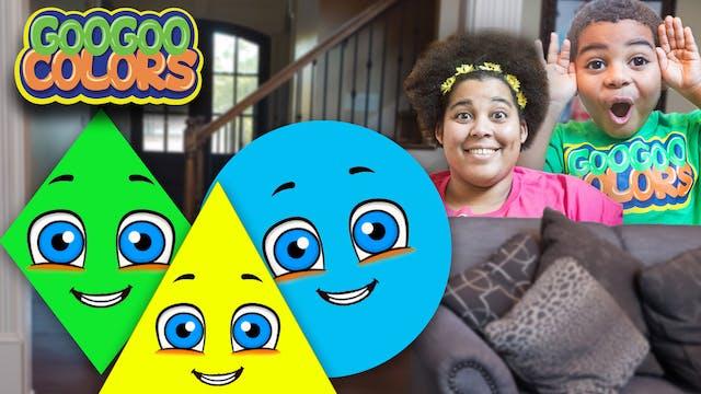 Goo Goo Mom Plays The Shape Game! (Le...