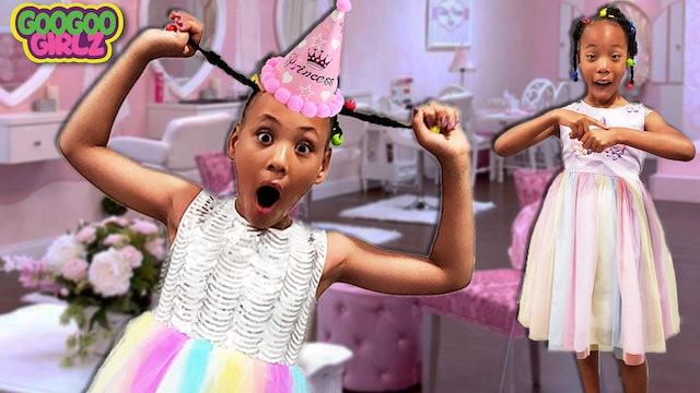 I'm Late To A Birthday Party! Goo Goo Girlz Party Routine