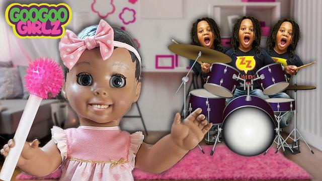 Goo Goo Doll Turn Dre-Dre Into Twins! (Hide & Seek with Goo Goo Girlz)