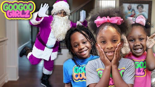 Did Santa Clause Loose His Color? 🎁☃️...