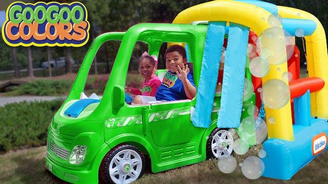 Goo Goo Gaga Pretend Play with Car Wa...