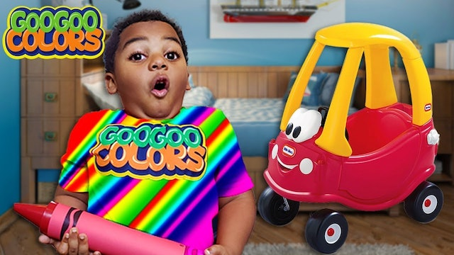 Oh No I Am Different Colors! 🌈(Learn How To Spell Red)