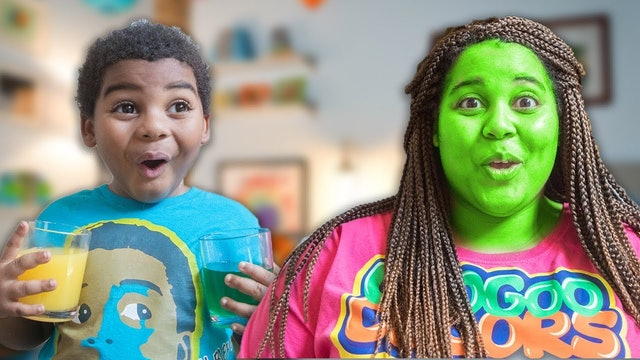 DO YOU LIKE SODA  Learn to Eat Healthy with Goo Goo Colors Song