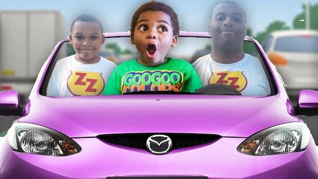 GOO GOO GAGA MAGICALLY TURN ZZ KID INTO A MAN! LEARN HOW TO SPELL CAR