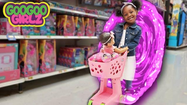 Toy Shopping Through Magic Portal! (H...