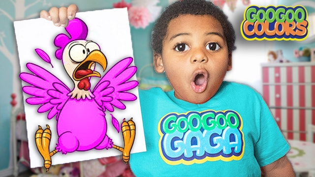 IS THAT A PINK CHICKEN? (Learn Animal Names & Sounds)