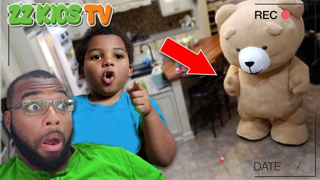 TEDDY CAME TO LIFE & it was CAUGHT ON CAMERA! (How did this happen?)