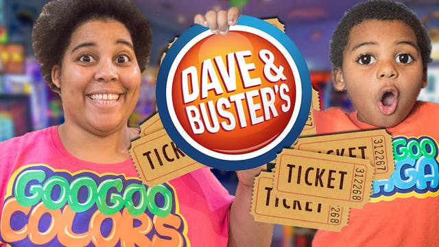 DAVE AND BUSTERS GAME CHALLENGE! ZZ K...