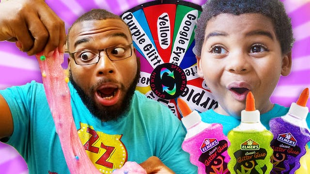 DAD VS SON MYSTERY OF SLIME SWITCH UP...