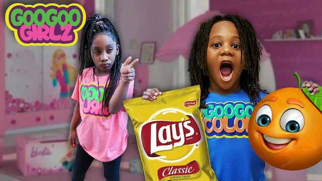 Are Chips Healthy- (Goo Goo Girlz Learn to Eat Healthy Snacks)