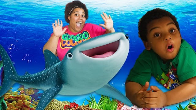 GIANT WHALE SHARK? FAMILY EVENTS AT G...