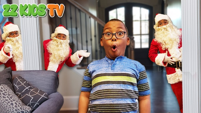 Where is Santa Clause? (Hide and Seek Christmas Game with The ZZ Kids)