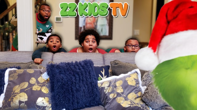Who Stolen ZZ Kids Christmas Tree?🎄 (Was it the Grinch or The Gingerbread Man?)