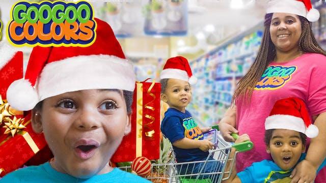 Goo Goo Gaga Help Mom Christmas Shop!...