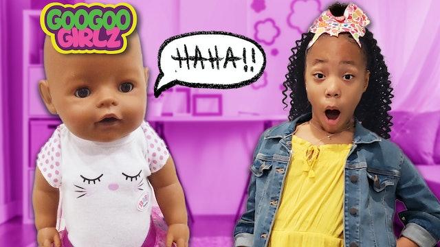 Where Is My Goo Goo Doll- Goo Goo Girlz Hide and Seek Clue Game!
