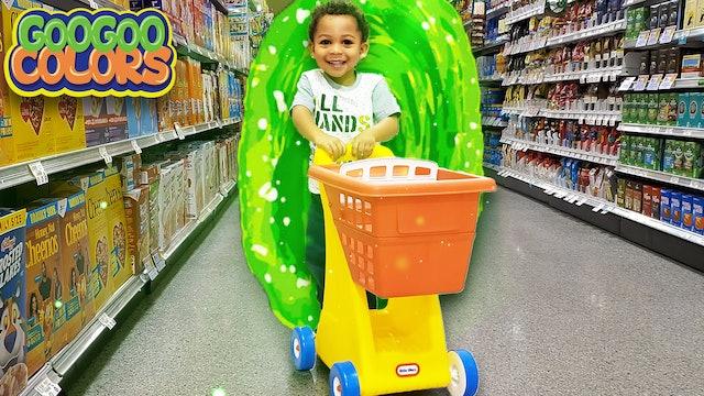 Where is My Shopping Cart? (Gaga Baby Magic Store Portal!)